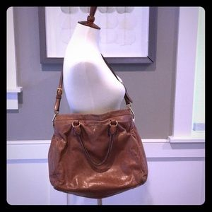 Large Prada Leather Handbag